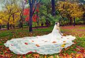 Осень — традиционное время свадеб