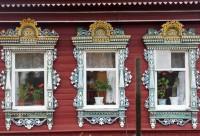 Деревянные наличники старой России