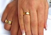 Парные обручальные кольца: модные тенденции 2015 года