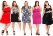Модное платье для толстушек