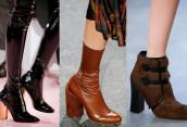 Модные тенденции женской обуви