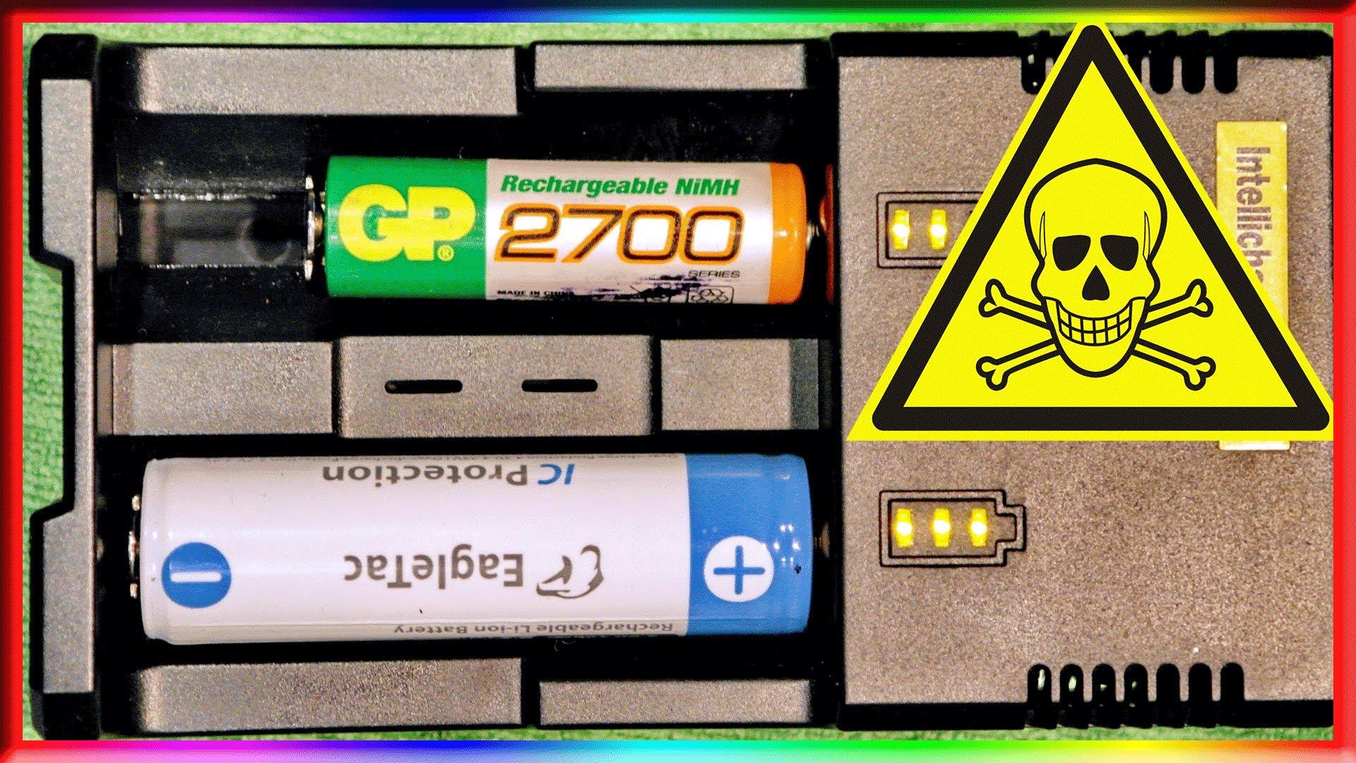 Универсальные зарядные устройства для всех типов аккумуляторов