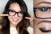 Мир через линзы: макияж для девушек, которые носят очки